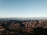 View from Saddle Peak, Santa Monica Mountains, Malibu CA
