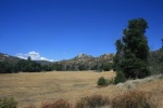 View of Stonewall Peak from the junction of the Hill Trail and Cold Stream Trails, Cuyamaca Rancho State Park