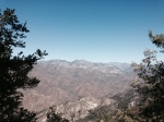North view from the Rim Trail, Angeles National Forest