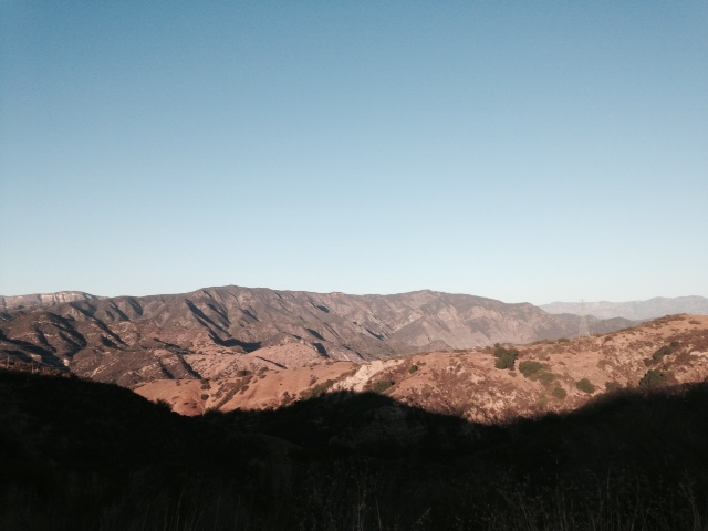 View of the Santa Ynez River Valley, Arroyo Burro Road