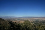 Looking north from Santa Clarita Truck Trail, Angeles National Forest