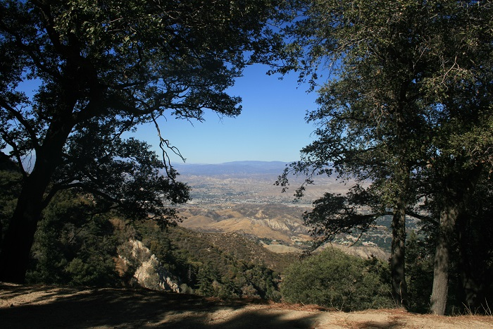 View from Santa Clara Divide Road, Angeles National Forest