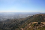 Looking southwest from the top of Bear Divide, Angeles National Forest