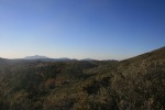 View of the Cuyamaca Mountains from the Pacific Crest Trail