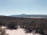 View from the top of a ridge on the Pacific Crest Trail, San Diego County