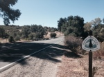 Pacific Crest Trail head on highway 79, San Diego County