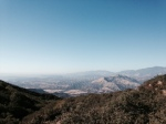 View of the Santa Ynez Valley, Los Padres National Forest, Knapp's Castle trail head
