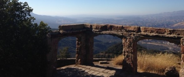 View from Knapp's Castle, Santa Barbara, Los Padres National Forest