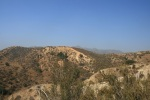 View from the hills above Michael Antonovich Regional Park