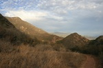 View from the Foothill Trail, Los Padres National Forest