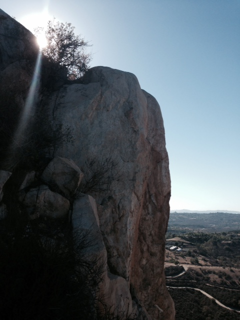 View from Rock Mountain, north San Diego County