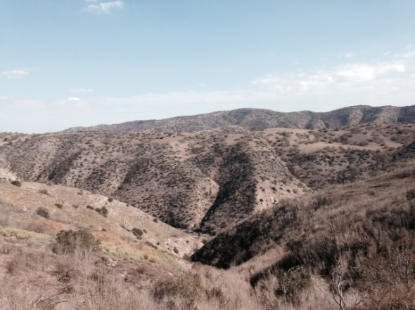 View of the Chino Hills from the Sonome Canyon Loop