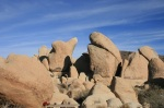 Geology at the White Tank Campground, start of the Arch Rock Nature Trail, Joshua Tree National Park