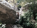 Jumbled boulders in Millard Canyon, Angeles National Forest, CA