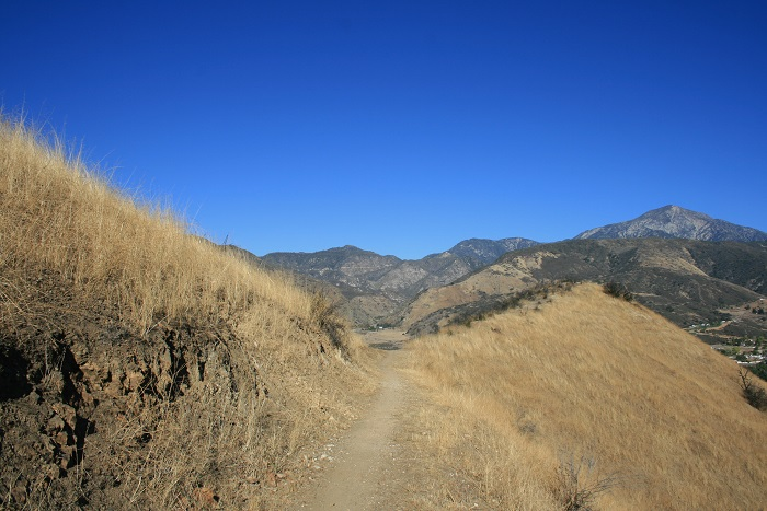 North side of the Crafton Hills on the Grape Avenue Trail, Yucaipa, CA