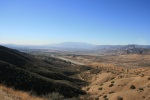 The San Gabriel Mountains as seen from the north side of the Crafton Hills, Yucaipa, CA