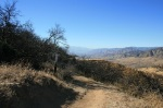 Descending the Crafton Hills on the Grape Avenue Trail
