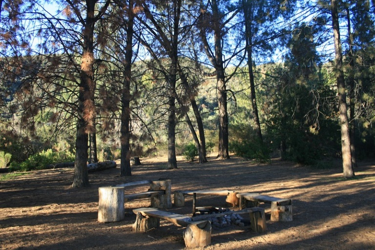 Pines Campground, Los Padres National Forest, Ojai, CA