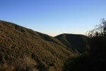 View from the Pines Campground, Los Padres National Forest, Ojai, CA