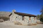 Stone house in the Mission Creek Preserve, San Bernardino Mountains, CA