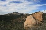 View of Cuyamaca Peak, Cuyamaca Rancho State Park, San Diego County, CA