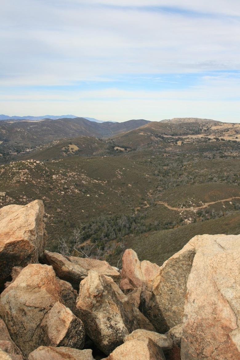 Summit of Oakzanita Peak, Cuyamaca Rancho State Park, San Diego County, CA