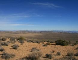 Panoramic view from Ryan Mountain, Joshua Tree National Park