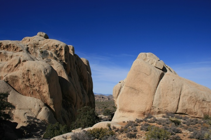 Boulders on the Ryan Mountain Trail, Joshua Tree National Park