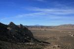 San Jacinto Peak as seen from the Ryan Mountain Trail, Joshua Tree National Park