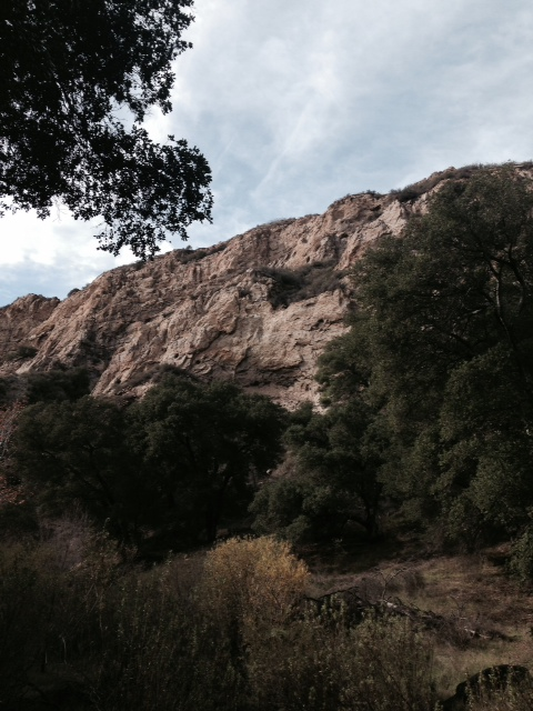 Geology in Elsmere Canyon, Santa Clarita Valley, CA