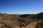 Panoramic view of Joshua Tree National Park from the Lost Horse Mine Trail