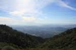 View of the Los Angeles Basin from Inspiration Point, Angeles National Forest