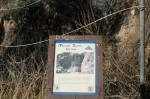 Plaque describing the history of the Mt. Lowe Railroad, Echo Mountain Trail, Altadena, CA