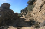 Sentinel Rock, Echo Mountain Trail, Mt. Lowe Railway site, Altadena, CA