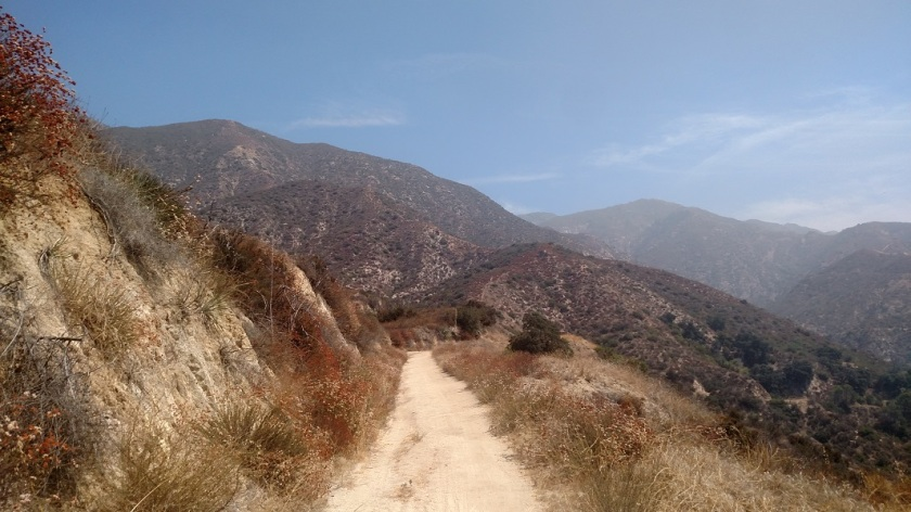 Brown Mountain Truck Trail, Angeles National Forest, CA