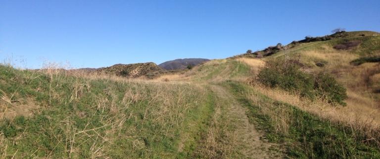 Rolling hills and grasslands, East Walker Ranch, Santa Clarita, CA