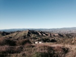 Panoramic view of the Santa Clarita Valley from East Walker Ranch, California
