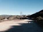 Trail head at East Walker Ranch, Santa Clarita Valley, CA