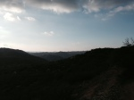 Panoramic view from the slope of Rodriguez Mountain, Hellhole Canyon Open Space Preserve, Valley Center, CA
