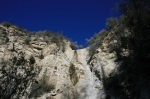 Waterfall in Colby Canyon, Angeles National Forest, California