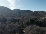 View of the Santa Ana Mountains from the end of the Slaughterhouse Trail, Murrieta, CA