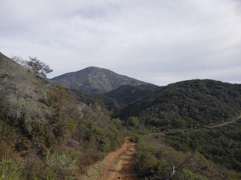 Santiago Peak, Orange County, CA