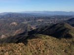 Southeast view from Slide Summit, Angeles National Forest, CA