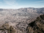 View of Big Tujunga Canyon from the summit of Strawberry Peak, Angeles National Forest, CA