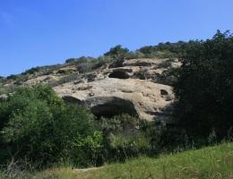 Sandstone caves, Irvine Open Space Preserve, Orange County, CA
