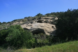 Sandstone caves, Irvine Open Space Preserve, Orange County, CA