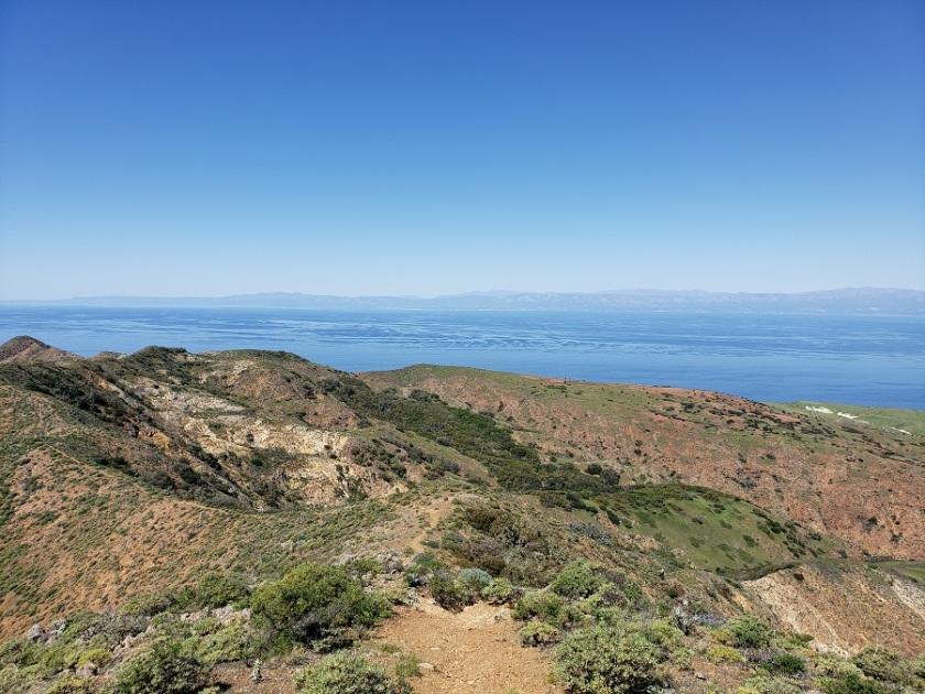 Montanon Ridge, Santa Cruz Island