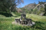 Stone ruins in San Dimas Canyon, CA