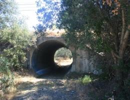 Tunnel under Highway 74, Orange County, CA