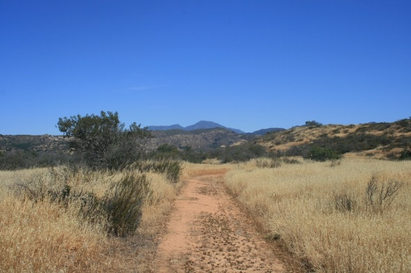 Saddleback Mountain, Orange County, CA